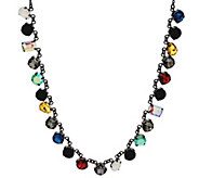 LOGO Links by Lori Goldstein Multi COlor Stone Necklace - J334303