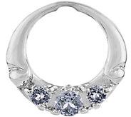 Carolyn Pollack Sterling Silver White TopazPendant Frame - J375903