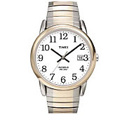 Timex Mens Easy Reader Two-Tone Expansion BandWatch - J109004