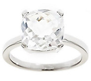 Sterling 3.10 cttw Cushion Cut Gemstone Ring - J309004