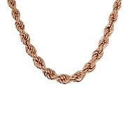 Bronzo Italia 20 Polished Graduated Rope Necklace - J313504