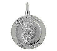 UltraFine Silver Saint Anthony Pendant - J314904