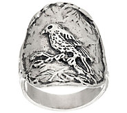 Sterling Silver Bird Design Ring by Or Paz - J335604