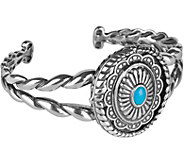 American West Sterling Treasures Magnetic Interchangeable Cuff - J380304