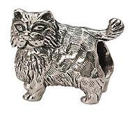 Prerogatives Sterling Persian Cat Bead - J299505