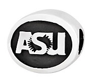 Sterling Silver Arizona State University Bead - J300705