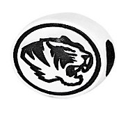 Sterling Silver University of Missouri Bead - J300805