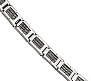Forza 8-1/4 Cable Polished Bracelet - J306605