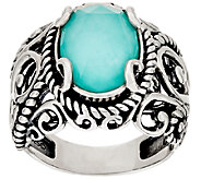 Carolyn Pollack Sterling Silver Signature Gemstone Doublet Ring - J320105