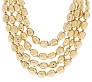 Linea by Louis DellOlio Multi-Strand Nugget Bead Necklace - J321805