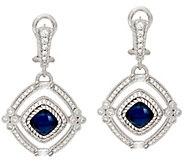 Judith Ripka Sterling Doublet Arabella Earrings - J326505