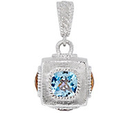 Judith Ripka Sterling Silver 9.50 cttw Gemstone Enhancer - J328705