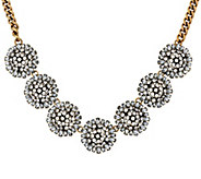 As Is BaubleBar Crystal Dandelion Collar Necklace - J330705