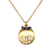 Satya Lotus Flower Birthstone 18 Necklace - J343805