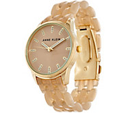Anne Klein Colored Panther Link Watch - J347405