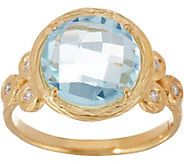 Adi Paz Round Gemstone & Diamond Ring, 14K Gold - J347905