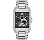 Bulova Mens Automatic Stainless Steel Watch - J375105