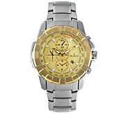 Peugeot Mens Stainless Sport Bracelet Watch - J383905
