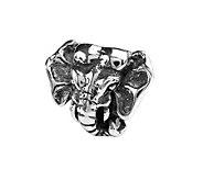 Prerogatives Sterling Elephant Head Bead - J108406