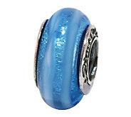 Prerogatives Sterling Blue Glass Bead - J108806