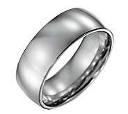 Forza Mens 8mm Steel Polished Ring - J109506