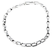 Sterling 20 Solid Oval Link Necklace, 48.7 g - J112806