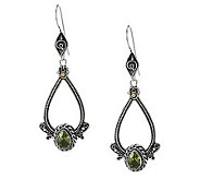 Suarti Sterling Gemstone Teardrop Dangle Earrings - J267206