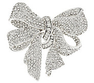Joan Rivers Bejeweled Estate Style Bow Pin - J292306