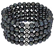 Honora Cultured Pearl 6.5mm 7-1/2 Multi-row Bracelet - J296006
