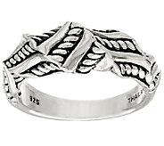 JAI Sterling Sukhothai Twisted Ring - J320806