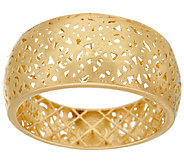 14K Gold Openwork Lace Graduated Band Ring by Adi Paz - J323406