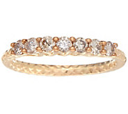 7-Stone Diamond Band Ring 14K Gold 1/2 cttw by Affinity - J348806