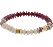 31 Bits Multi-Color Bliss Stretch Bracelet - J349306