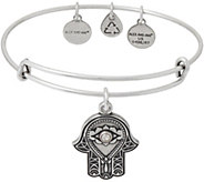 Alex and Ani Hand of Fatima Charm Bangle - J351906