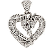 JAI Sterling Silver Giraffe Heart Enhancer, 17.3g - J353006