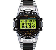 Timex Mens Atlantis Digital Sport Watch with Leather Band - J102907