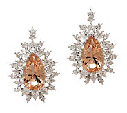 Smithsonian Simulated Thompson Diamond Earrings - J265607