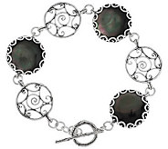 Or Paz Sterling Mother-of-Pearl Double Toggle Bracelet - J286307