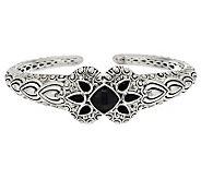 JAI Bali Lanna Sterling & Black Onyx Cuff Bracelet - J288707