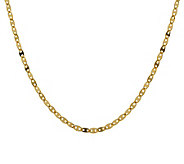 Veronese 18K Clad 18&quot Glam Chain Necklace - J299107