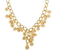 Arte dOro 18 Polished & Satin Charm Necklace,18K, 48.00g - J300607