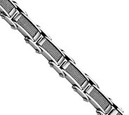 Forza 8-1/2 Brushed Cable & Polished Bracelet - J306607