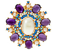 Joan Rivers Royal Estate Style Brooch - J321607
