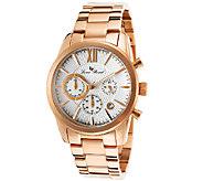 Lucien Piccard Mens Mulhacen Chronograph Rosetone Watch - J339107