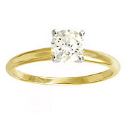 Diamond Solitaire Ring, 3/4cttw, 14K Yellow Gold, by Affinity - J339407