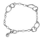 Hagit Sterling Silver Link Bracelet - J339707
