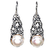 Hagit Sterling 11mm Cultured Pearl Dangle E arrings - J341807