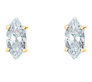 Marquise Diamond Earrings, 14K Gold, 1/2 cttw,by Affinity - J345207