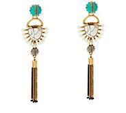 Stella & Dot Totem 4-in-1 Tassel Chandelier Earrings - J346607