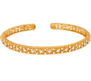 Judith Ripka 14K Gold 8/10 cttw Diamond Bracelet - J347507